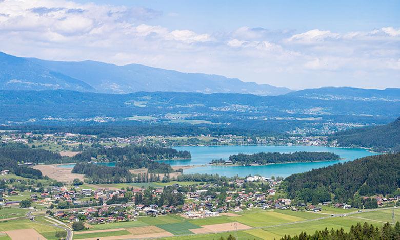 Panoramatická fotka přírody