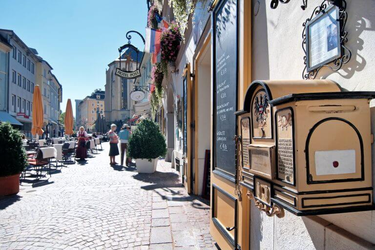 Region Villach - město detail