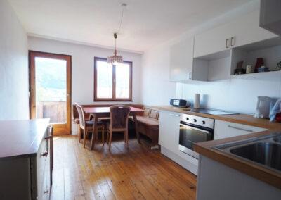 Ubytování v Rakousku - kuchyně